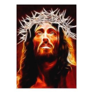 Jesus Christ Our Savior 13 Cm X 18 Cm Invitation Card