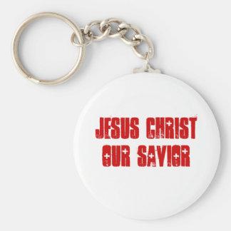 JESUS CHRIST OUR SAVIOR KEYCHAIN