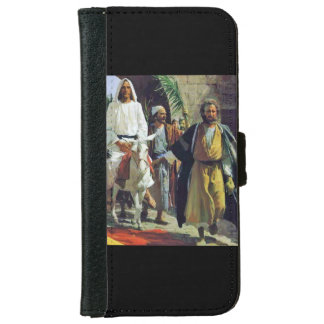 Jesus Christ Palm Sunday iPhone 6 Wallet Case