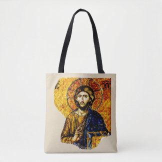 Jesus Christ, Pantocreator Tote Bag