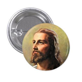 Jesus Christ Portrait 3 Cm Round Badge