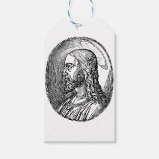 Jesus Christ profile Gift Tags