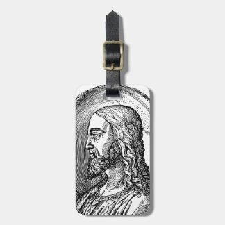 Jesus Christ profile Luggage Tag