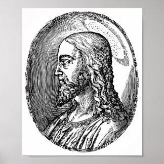 Jesus Christ profile Poster