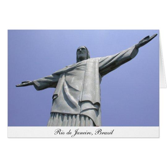 Jesus Christ Redeemer, Rio de Janeiro, Brazil Card
