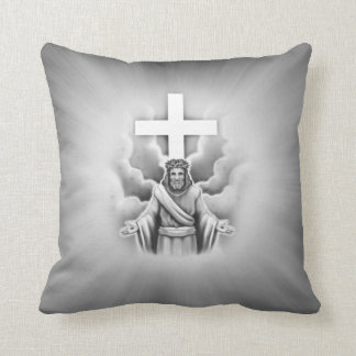 Jesus Christ Resurrection Cross Design Pillows