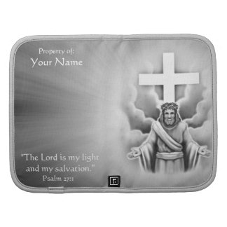 Jesus Christ Resurrection Cross Design Folio Planners
