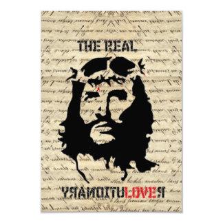 Jesus Christ revolutionary 9 Cm X 13 Cm Invitation Card