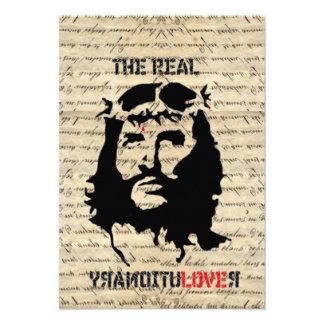 Jesus Christ revolutionary Personalized Invitation