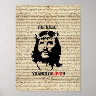 Jesus Christ revolutionary Poster