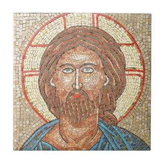 Jesus Christ Small Square Tile