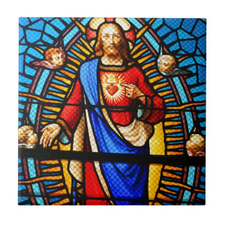 Jesus Christ Small Square Tile