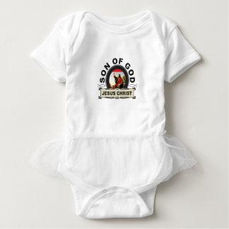 Jesus Christ son of god Baby Bodysuit