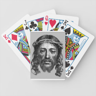 Jesus Christ Th Messiah Christian Art Bicycle Playing Cards