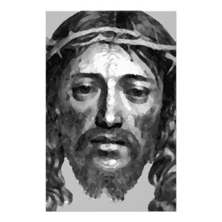 Jesus Christ Th Messiah Christian Art Stationery