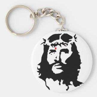 Jesus Christ - The Real Revolutionary Basic Round Button Key Ring