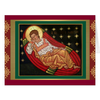 Jesus Christ, the Unsleeping Eye ICON Card