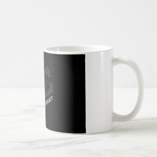 Jesus Christ Typo Art Coffee Mug