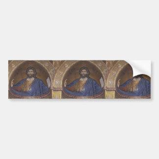 Jesus CHRIST :  Vintage Church ART Bumper Sticker