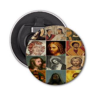 Jesus christ,vintage collage,antique,victorian bottle opener