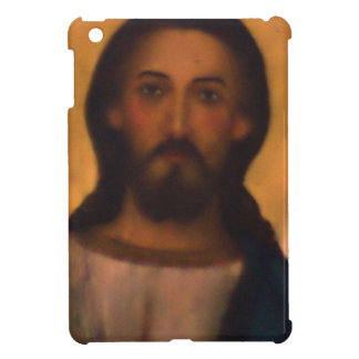 Jesus Christ Vintage Hand Painted Orthodox Icon Cover For The iPad Mini