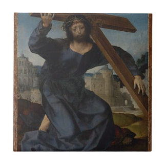 Jesus Christ With Cross Tile
