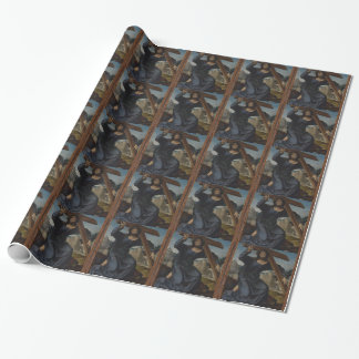 Jesus Christ With Cross Wrapping Paper
