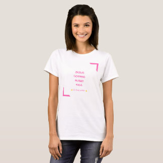 Jesus, Coffee, Husband, Hubby, Kids, In that order T-Shirt