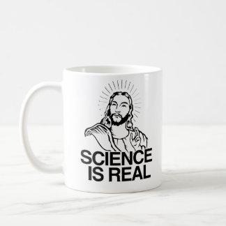Jesus Concurs - Science is Real - hv - - Pro-Scien Coffee Mug