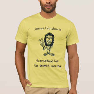 Jesus Condoms T-Shirt