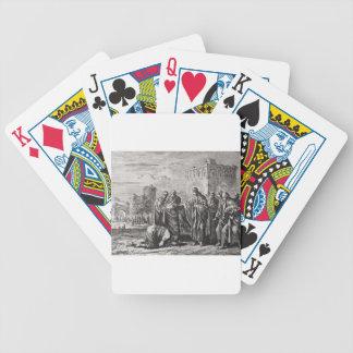 Jesus Confronts 12 Apostles Poker Deck