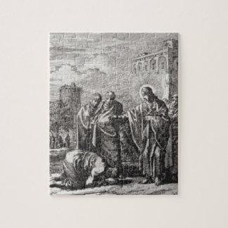 Jesus Confronts 12 Apostles Puzzles