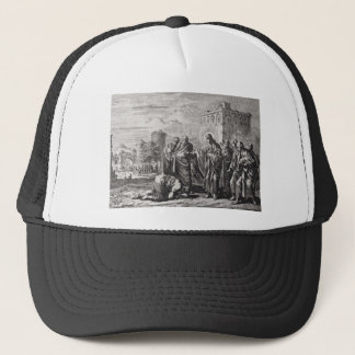 Jesus Confronts 12 Apostles Trucker Hat