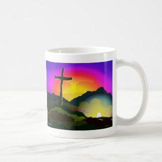 Jesus Conquers Death Coffee Mug