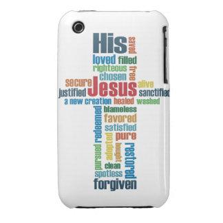 Jesus Cross iPhone 3 Covers