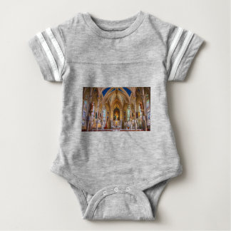 Jesus Cross Church Baby Bodysuit