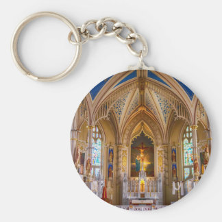Jesus Cross Church Key Ring