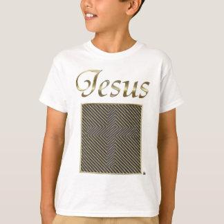 JESUS Cross Optical Illusion T-Shirt
