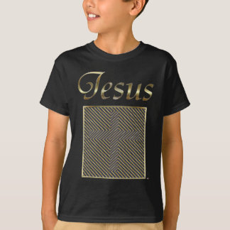 JESUS Cross Optical Illusion T-Shirt