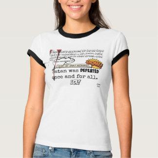 Jesus defeated Satan - Women's Shirt