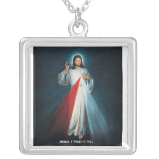 Jesus Divine Mercy Necklace