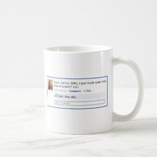Jesus does Social Media Mugs