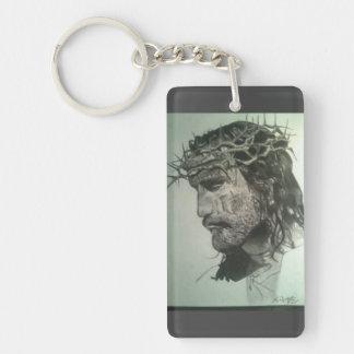 Jesus Doublesided Keychain
