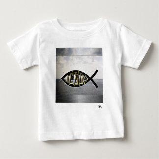 Jesus fish 2 baby T-Shirt