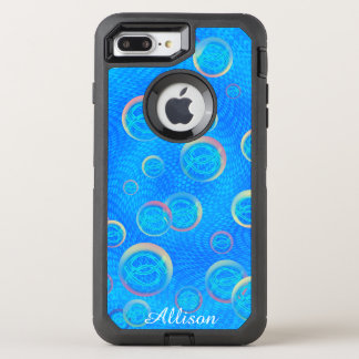 Jesus fish in bubbles OtterBox defender iPhone 8 plus/7 plus case