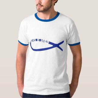 Jesus Fish - Jesus Is Lord Tshirt