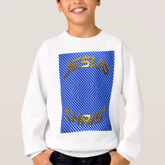 JESUS Fish Optical Illusion Sweatshirt