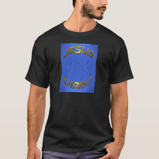 JESUS Fish Optical Illusion T-Shirt