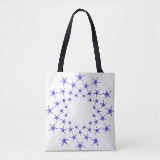 Jesus Fish Stars Tote Bag