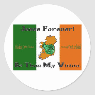 Jesus Forever! Round Sticker